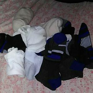 Lot of Hanes Socks